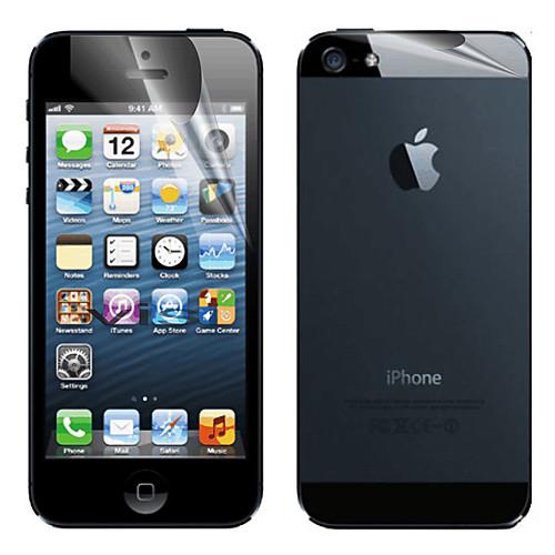 Защитная плёнка для экрана Apple для iPhone 6s iPhone 6 iPhone SE/5s 1 ед. Защитная пленка для экрана и задней панели Матовое стекло защитная пленка для мобильных телефонов apple iphone 5 5s 5c