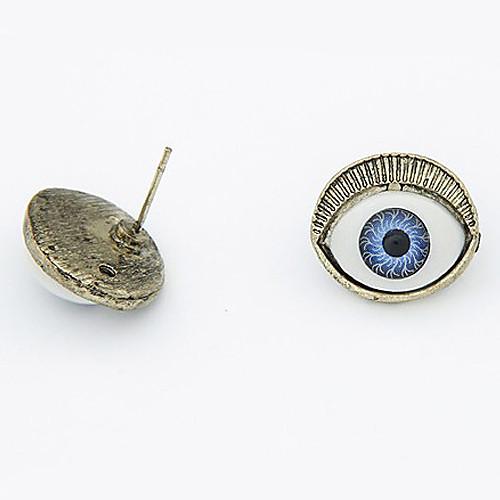 пистолет цвета покрытием серьги сплава глаз драгоценный камень  128.000