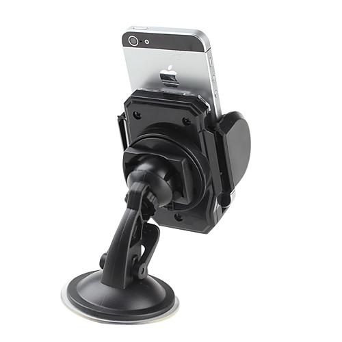 Гибкая лобовое стекло крепление для навигации iPhone 5 и другие (черный)  429.000