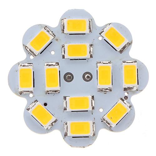 G4 12x5630 SMD 6W 500-560LM 3000-3500K теплый белый свет форме лотоса Вертикальный Pin LED Spot Лампа (12)  171.000