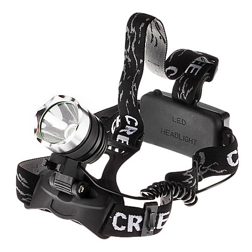 3-режимный налобный LED фонарь с лампой Cree XM-L T6 (1800LM, 2x18650)  831.000