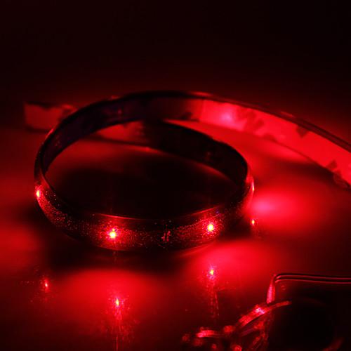 0.6м Гибкие светодиодные ленты 24 светодиоды Красный Водонепроницаемый 12 V / IP65
