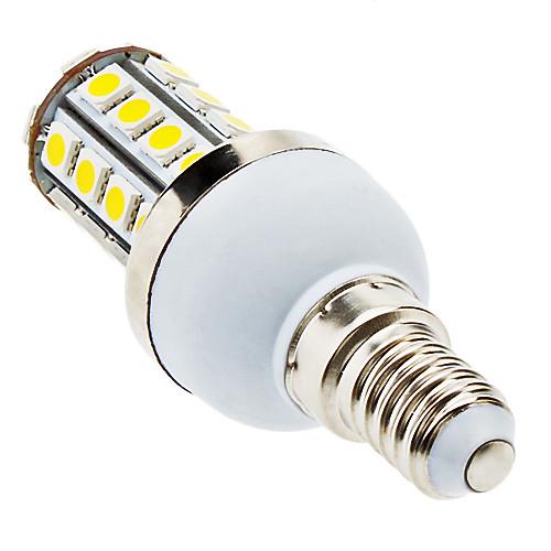 LED лампа типа Корн (85-265V), теплый белый свет, E14 7W 36x5050 SMD 560-590LM 3000-3500K  300.000