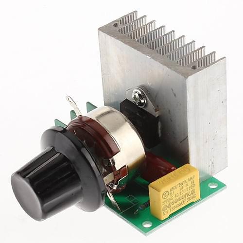 AC 220V 3800W SCR Voltage Regulator затемнения Диммеры регулятор скорости термостат  343.000
