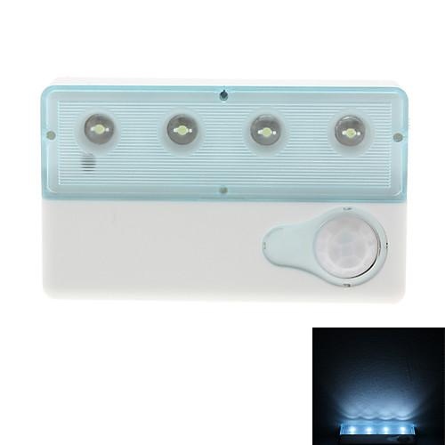 Инфракрасный датчик 0.5W Белый свет Мини светодиодный светильник (2xAAA/USB)