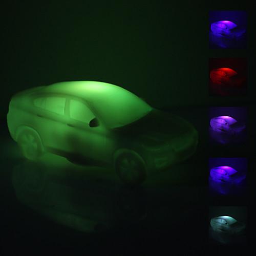 Светильник ночной светодиодный в форме автомобиля (3xAG13)