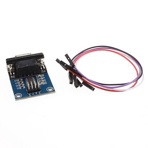 RS232 серийный к модулю конвертера TTL  128.000