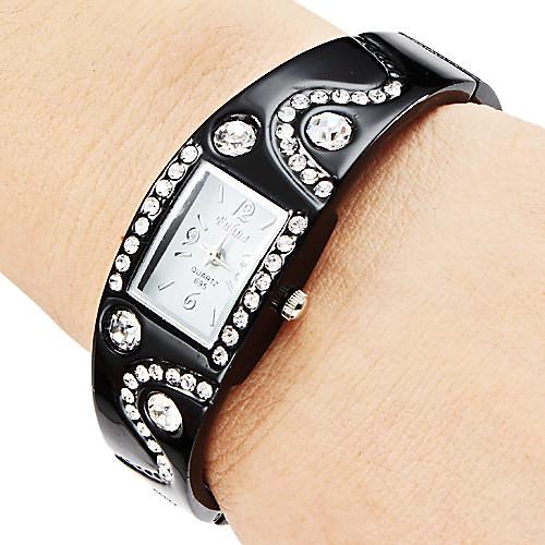 Браслет женский стиль сплава аналогового кварцевые часы (разных цветов)  214.000