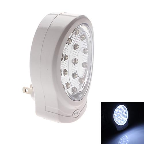 нам подключить 13-светодиодный холодного белого света аккумуляторная лампа безопасности (220)