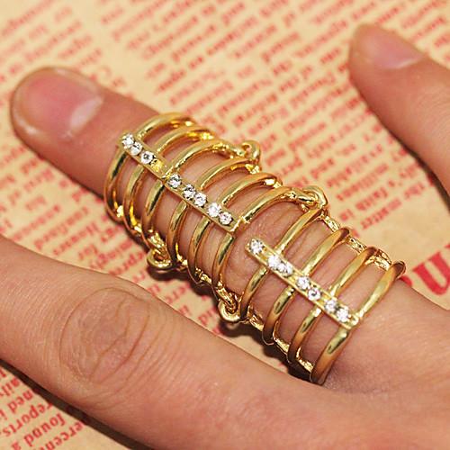 Позолоченные кольца пальца сплава  192.000