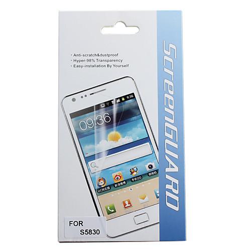 Защитные Матовый экран протектор с Ткань для очистки для Samsung Galaxy Ace S5830  171.000