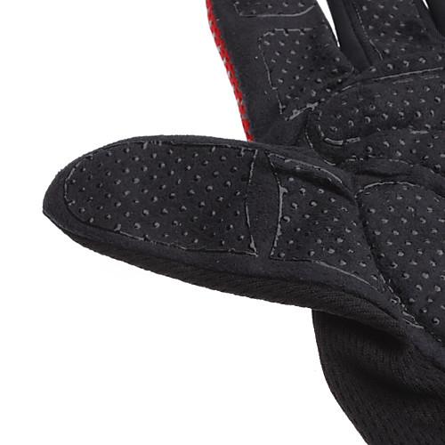 K2 красный  черный  серый нейлон Удобные / дышащий полной пальцев перчатки для велотуристов / альпинизм  300.000