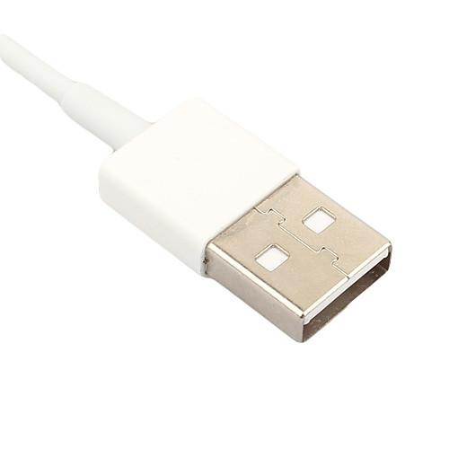 8-контактный яблоко 8-контактный для USB синхронизация данных и зарядки кабель для Iphone 5, Ipad мини, плеерах (белый, 7,5 см)  257.000