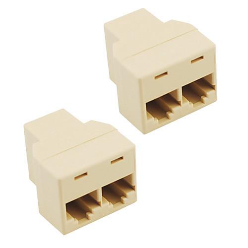 разъем разъема разветвителя rj45 cat5 cat6 lan ethernet адаптер сплиттера (2-Pack) cat6 180 degree angle rj45 ethernet keystone round jack coupler pack of 5
