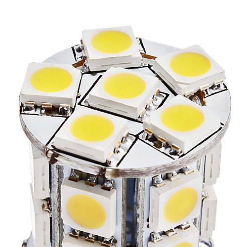 G4 3.5W 18x5050 SMD 280-300LM 3000-3500K теплый белый свет Светодиодная лампа кукурузы (12)  76.000