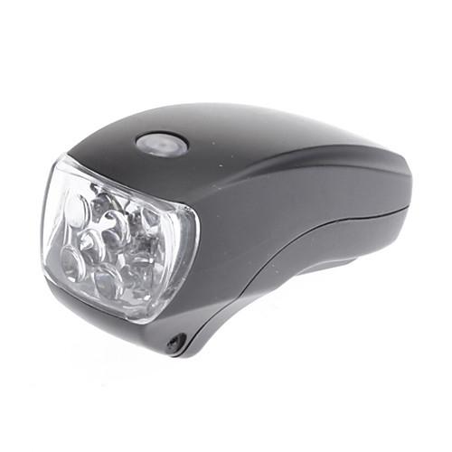 Черный ABS Водонепроницаемый / 5 LED / 4 мигающий режим велосипед головной свет  343.000