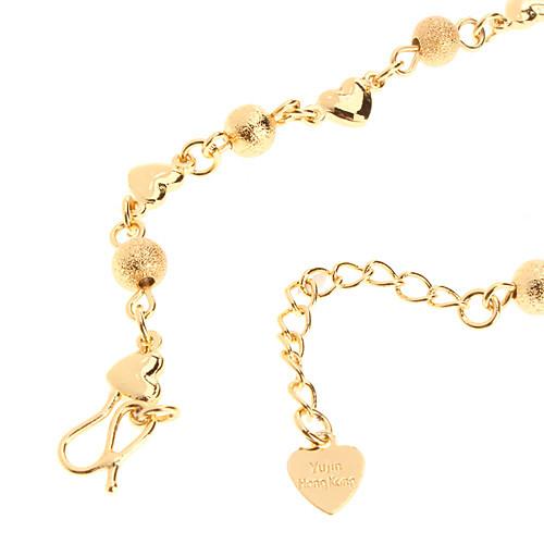 Тупые польские бисера в форме сердца позолоченный Bracelace  115.000