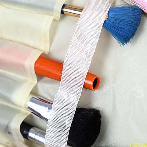 Pink Heart Pattern портативный косметический макияж мешок руки чехол сумка с косметическим зеркалом  321.000