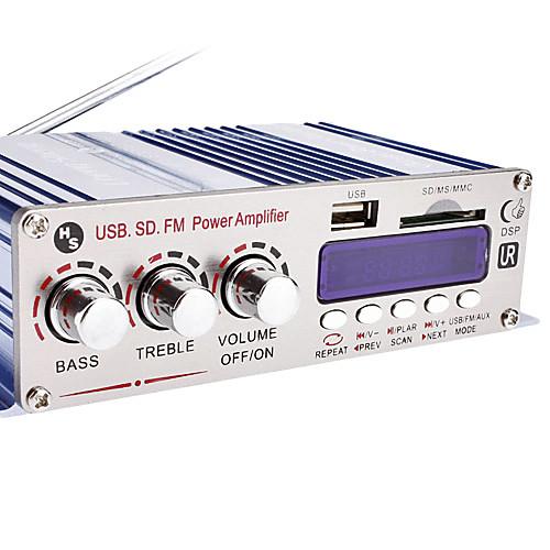 Привет-Fi стерео усилитель MP3-плеер для автомобилей мотоциклов (SD / USB)  1202.000