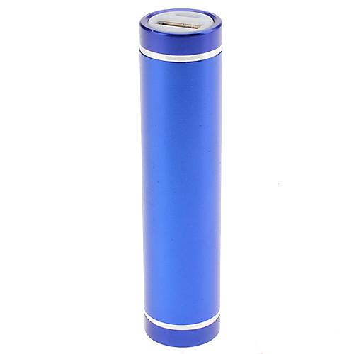 Внешняя батарея цилиндрической формы для iPhone/Ipad/Samsung Galaxy и др. смартфонов (2600mAh)  257.000