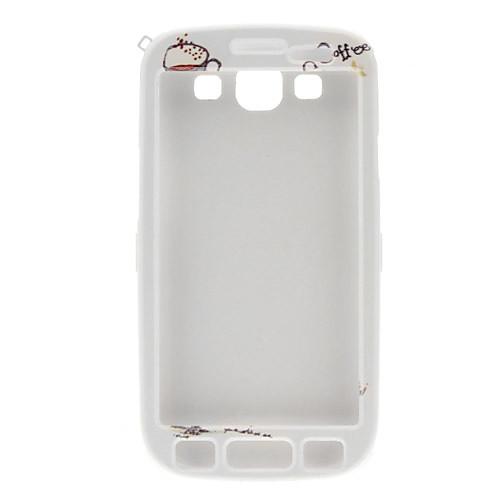 Кофе История отдел дизайна и обратно Full Body чехол для Samsung Galaxy I9300 S3  300.000