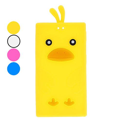 Прекрасный мультфильм Duck дизайн Мягкий чехол для Ipod Nano 7 (разных цветов)  128.000