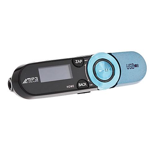 1,1 дюймовый OLED MP3-проигрыватель с наушниками и линии передачи данных (2 Гб, разных цветов)