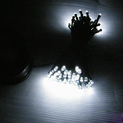 Солнечные 12M 100-светодиодный Белый свет мигает лампа струнных  1632.000