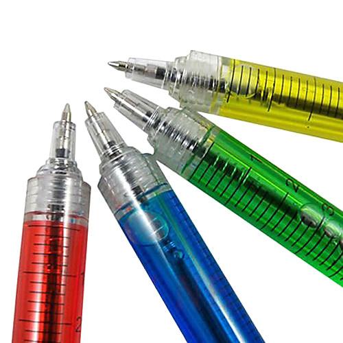Шариковая ручка в виде шприца (случайный цвет)  84.000