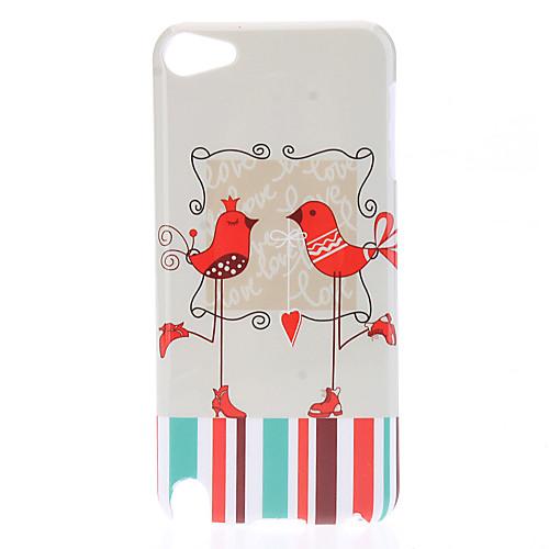 Red Bird Pattern защитный жесткий чехол для Ipod Touch 5