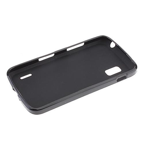 Простые проекты ТПУ Мягкий чехол для Nexus 4 E960 (разных цветов)  128.000