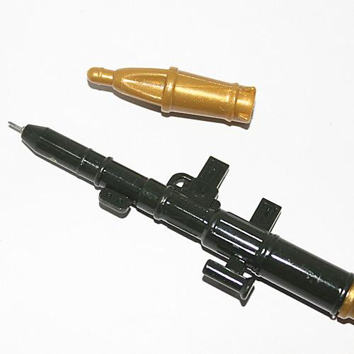 Ручка шариковая пластиковая в форме ракетной установки, синие чернила (случайный цвет)  64.000