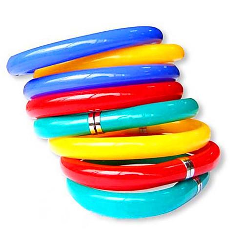 гибкий браслет стиль синими чернилами шариковой ручкой (случайный цвет)  85.000