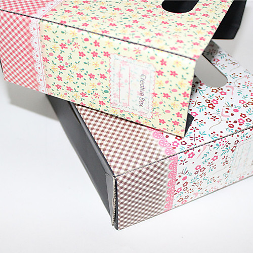 Коробка для хранения бумаг (разные цвета)  107.000