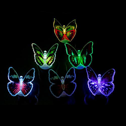 Красочные LED бабочки (разные цвета)