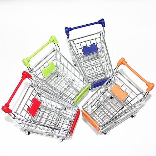 Подствака настольная мини в форме корзины для покупок (случайный цвет)  278.000