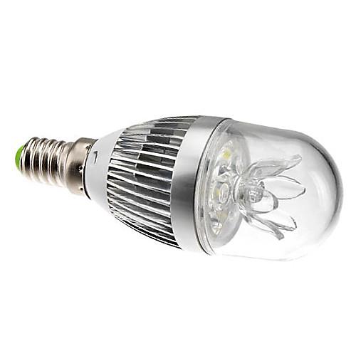 Dimmable E14 3W 270LM 6000-6500K натуральный белый свет Светодиодные лампы шаровые (220)