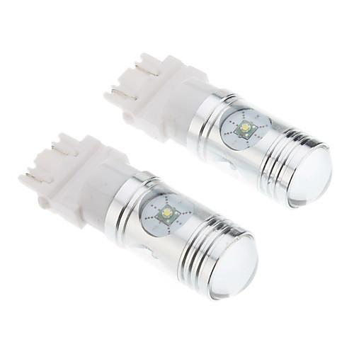 3157 12W белый свет Cree Светодиодные лампы для автомобилей тормозные / заднего хода (DC 12-24В, 1 пара)