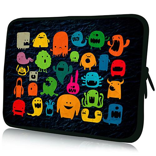 веселые узоры ноутбук планшет нейлоновый материал водонепроницаемый корпус рукав для 11