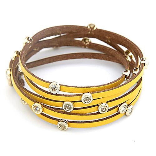 Цвет Candy многорядового кожаный браслет (разных цветов)  257.000