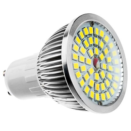 6W 500-550lm GU10 Точечное LED освещение MR16 48 Светодиодные бусины Тёплый белый Холодный белый Естественный белый 100-240V 85-265V цена