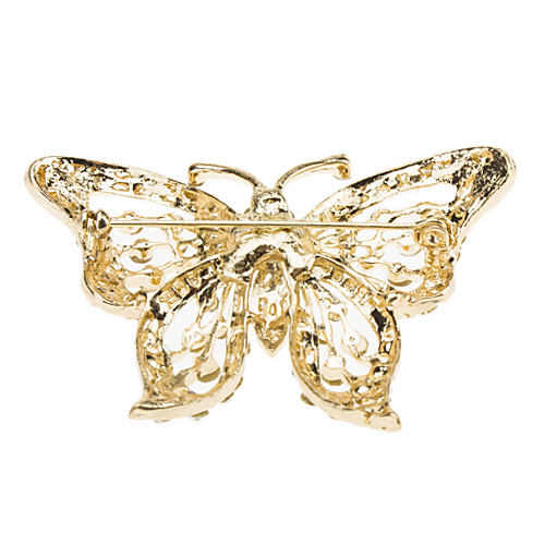 Алмазный форме бабочки брошь  128.000