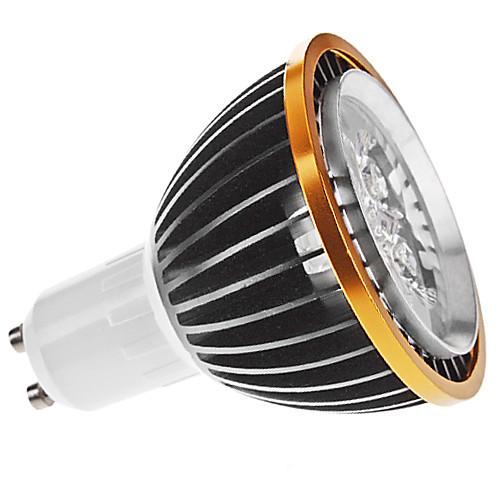 Затемнения GU10 5W 300-350LM 6000-6500K Белый свет Природный черный корпус Светодиодные пятно лампы (220)