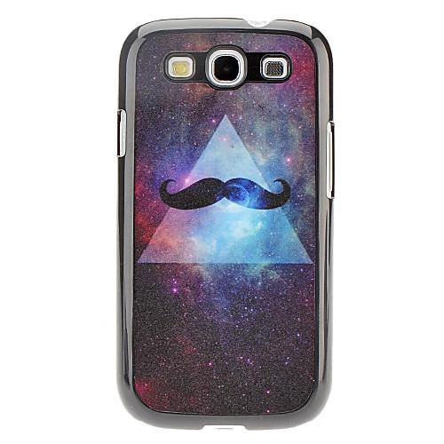 Борода Pattern Жесткий чехол для Samsung I9300 Galaxy S3  171.000