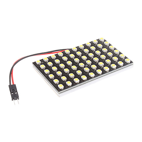 T10/BA9S/Festoon 4W 60x3528SMD натуральный белый свет Светодиодные лампы для автомобиля лампа для чтения (12)  214.000