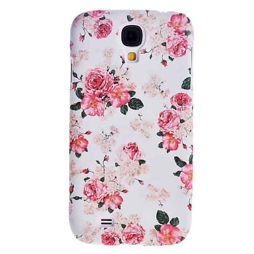 Чехол с цветочным принтом для Samsung Galaxy i9500 S4, элегантный дизайн  300.000