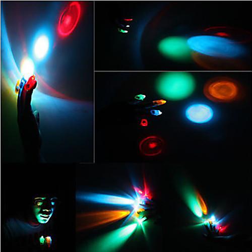 Разноцветные светодиоды на пальцы  85.000