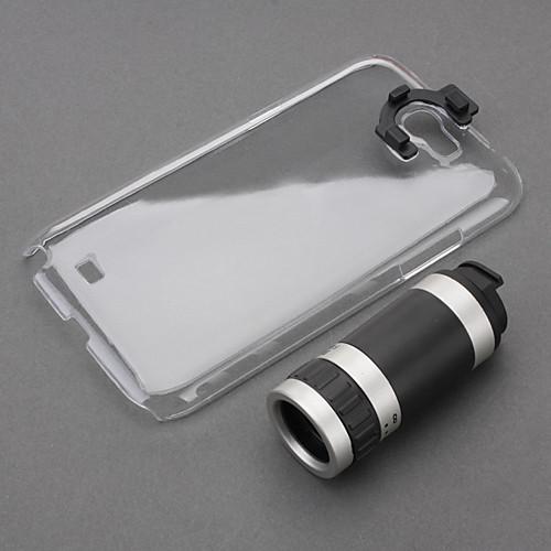 Оптический телескоп 8-кратным зумом объектива камеры ручной фокусировки с жестким чехол для Samsung Galaxy Note N7100 2  687.000