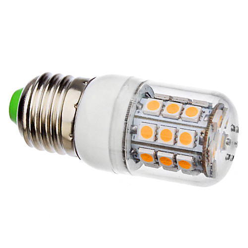 3500lm E26 / E27 LED лампы типа Корн T 30 Светодиодные бусины SMD 5050 Тёплый белый 110-130V 220-240V