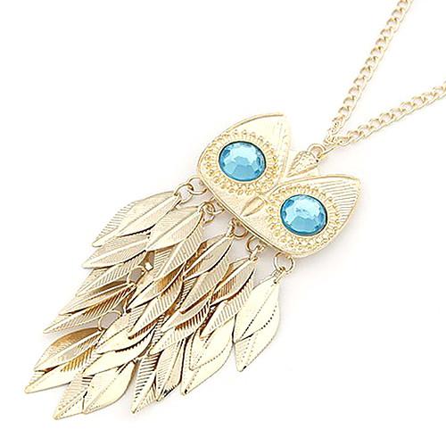 Ожерелье из сплава с подвеской в виде совы  214.000